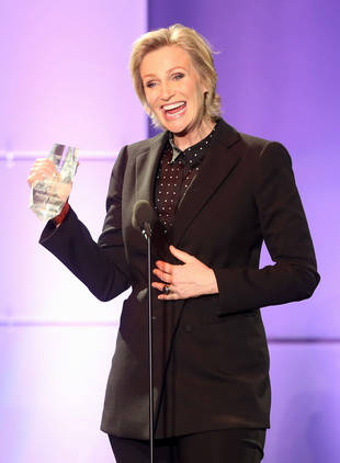 "Jane Lynch Relates to Ellen Page's Coming Out Fears: ""She Should Give Herself a Break"""