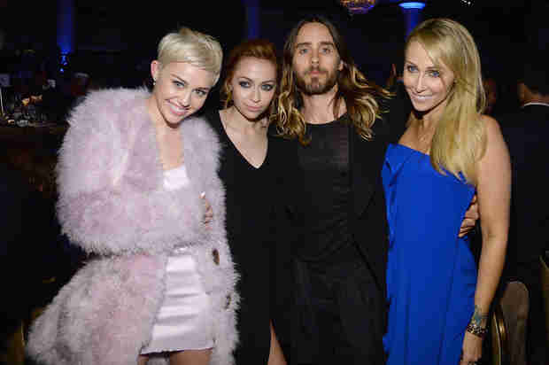 Are Miley Cyrus and Jared Leto Hooking Up? —Report