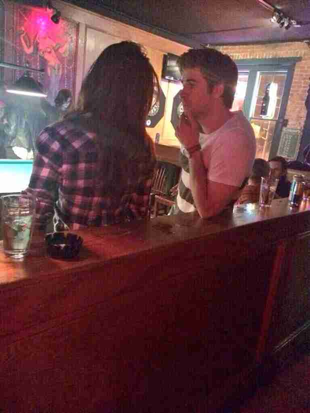 "Did Nina Dobrev and Liam Hemsworth Share a ""Quick Kiss"" After Atlanta Bar Night? — Rumor Patrol!"