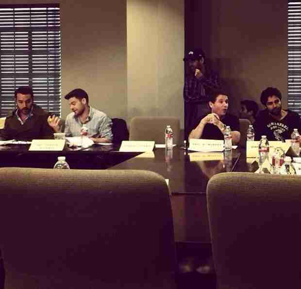 Entourage Cast Reunites in Twitter Pic From Set of Movie Adaptation (PHOTO)
