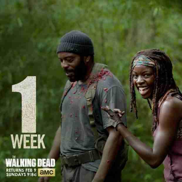 AMC Releases New Poster: One Week Countdown Till The Walking Dead Season 4 Returns!