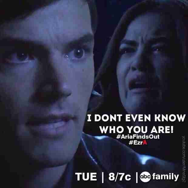 "Pretty Little Liars Spoilers: Aria Finds Out Ezra Is ""A""! (PHOTO)"