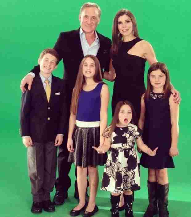 Heather Dubrow Reveals Adorable Family Portrait For Season 9 of RHOC (PHOTO)