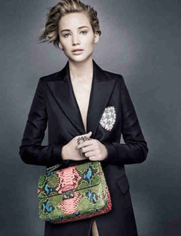 Jennifer Lawrence Looks Stunning in Minimal Makeup for Dior (PHOTO)