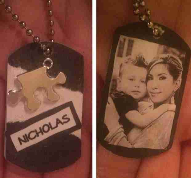 Check Out Jacqueline Laurita's Beautiful Necklace Honoring Son Nicholas