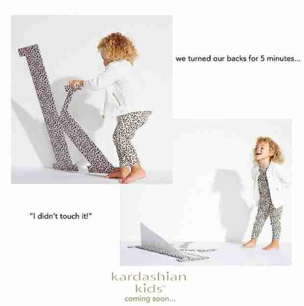 Check Out the First Photos of the Kardashian Kids Line!