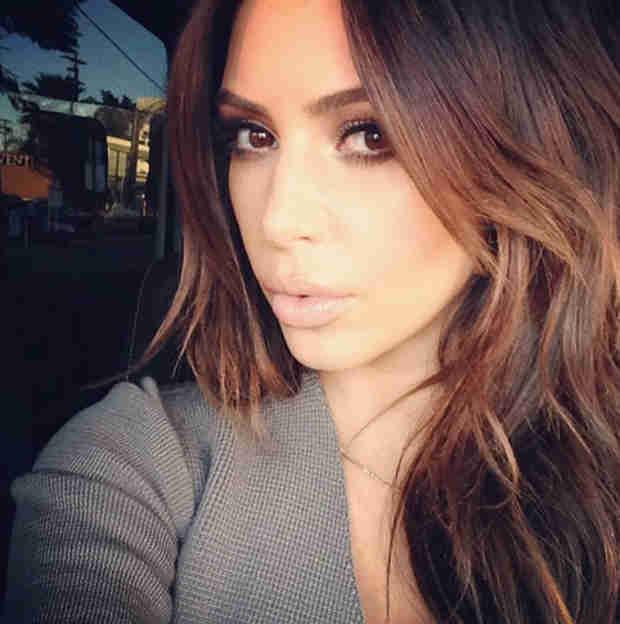 "Kim Kardashian's Stylist Says ""She Might Go Back to Blonde"""