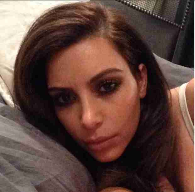 Kim Kardashian Reveals Her Valentine's Day Wishes