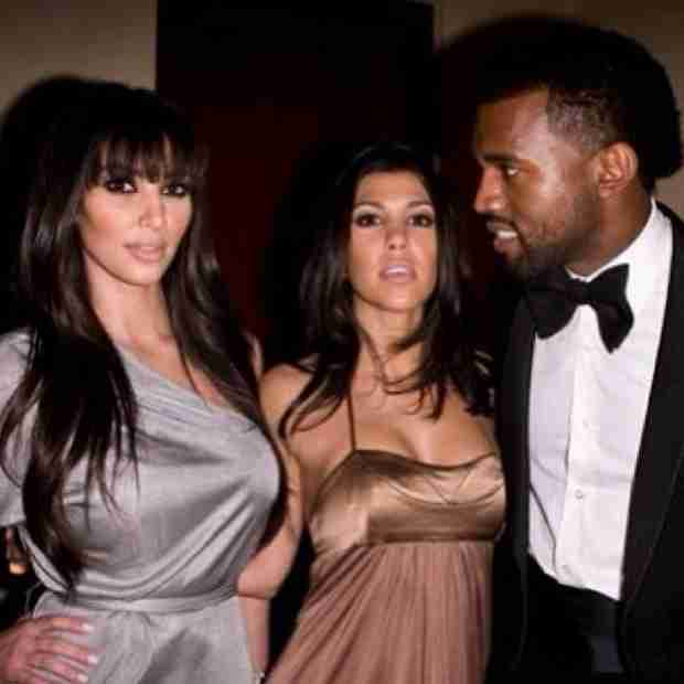 Kanye West Gazes Lovingly on Kim Kardashian in Throwback Photo