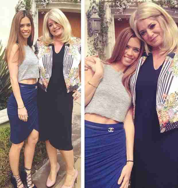 Lydia McLaughlin Has an Adorable Birthday Lunch With Mama Judy (PHOTO)
