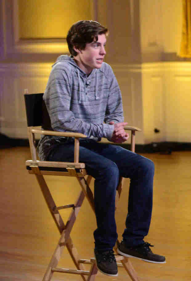 "Watch Sam Woolf Sing His Original Song ""I Try"" in American Idol 2014 Hollywood Week Finals — February 12, 2014"