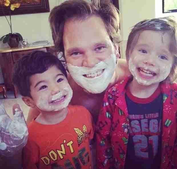 "Joyce Giraud Shares Hilarious Pic of ""Her Boys"" — Adorable Alert (PHOTO)"