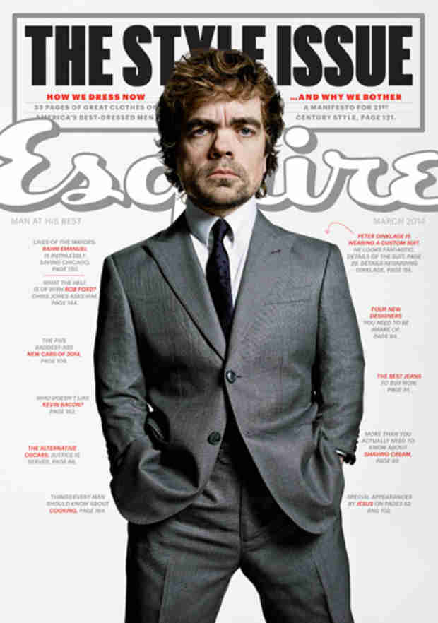 Peter Dinklage Tells Esquire About the Time a Man Died Right in Front of Him