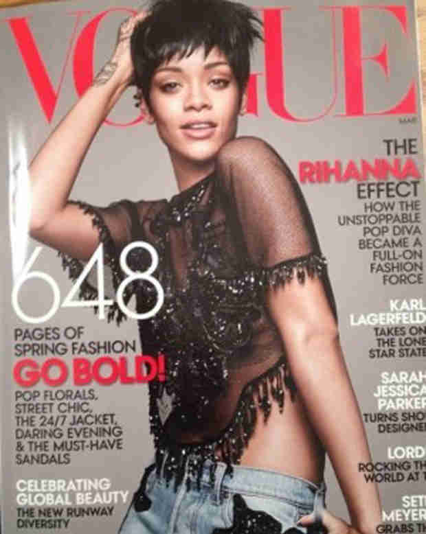 Rihanna's Vogue Cover Leaks — How Does She Look? (PHOTO)