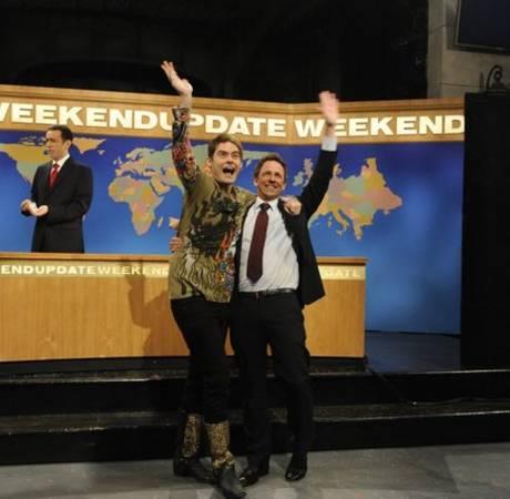 Seth Meyers Leaves SNL: Stefon, Amy Poehler, Andy Samberg Return For Last Show (VIDEO)