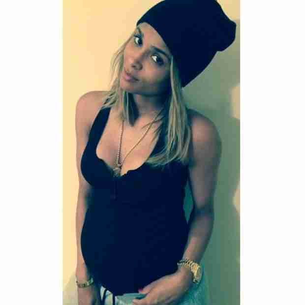 Pregnant Ciara Shows Off Her Baby Bump on Instagram (PHOTO)