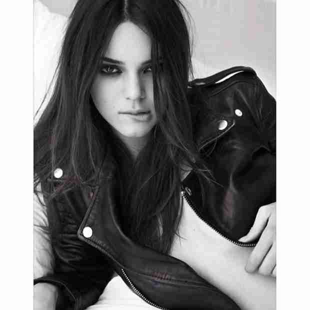 Kendall Jenner Poses Topless in a Leather Jacket For W Magazine (PHOTO)