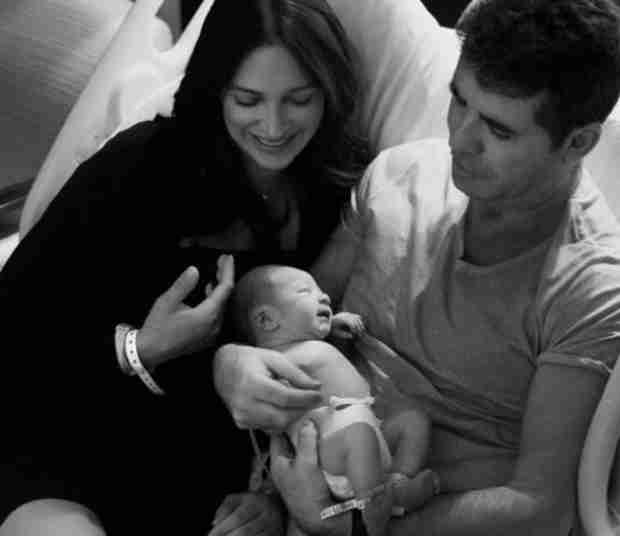 Simon Cowell Shares First Adorable Baby Pic of Son Eric (PHOTOS)