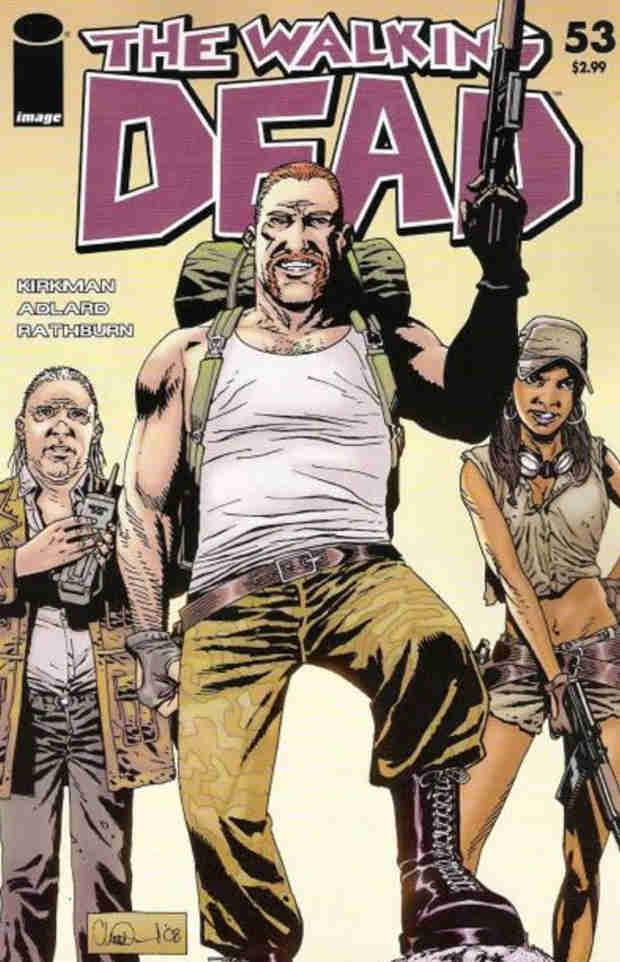 "The Walking Dead Season 4: Abraham, Eugene, Rosita Intro Matches ""Iconic"" Scene From Comics (PHOTOS)"