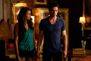 Vampire Diaries Burning Question: How Will Elena React to Damon When She Returns?