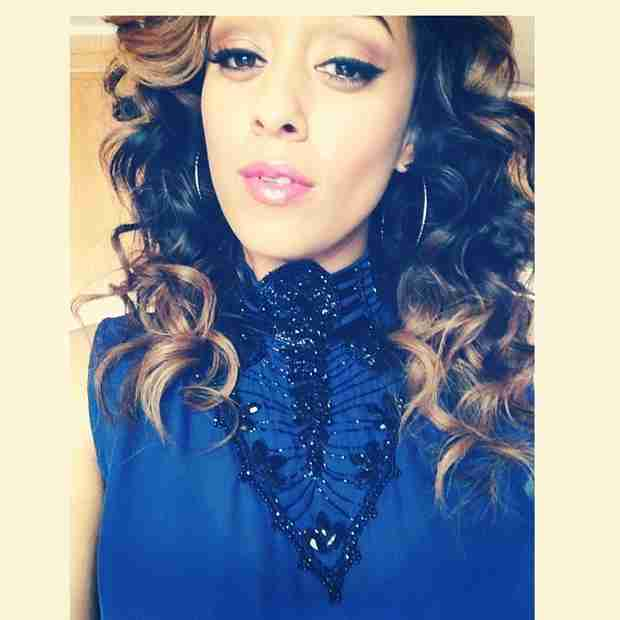 Tia Mowry Goes Natural With Her Curls — and Wants Your Help! (PHOTO)