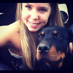 """Kailyn Lowry Defends Owning a Rottweiler: """"He's the Gentlest Giant!"""""""