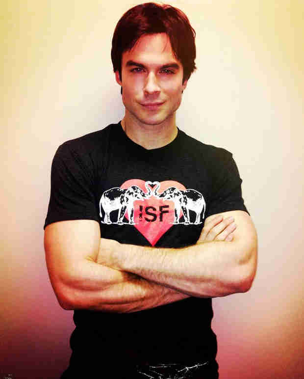 Ian Somerhalder's ISF Valentine's Day T-Shirts Are on Sale at The Vanity Project