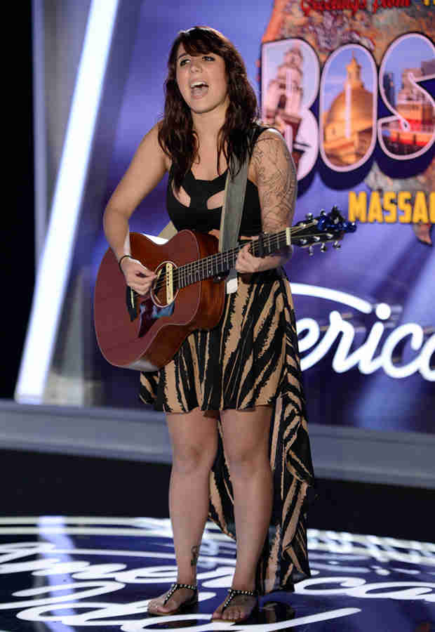 Watch Jillian Jensen Sing an Original Song in American Idol 2014 Hollywood Week Finals — February 12, 2014