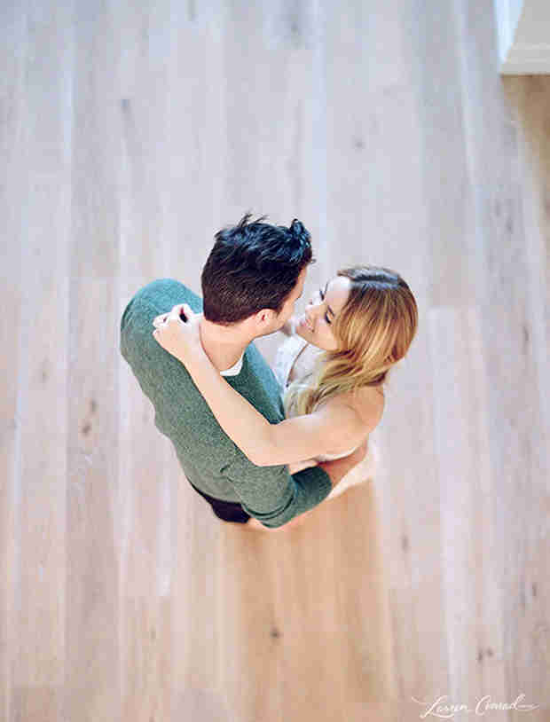 Lauren Conrad Shares Adorable Engagement Photo With William Tell