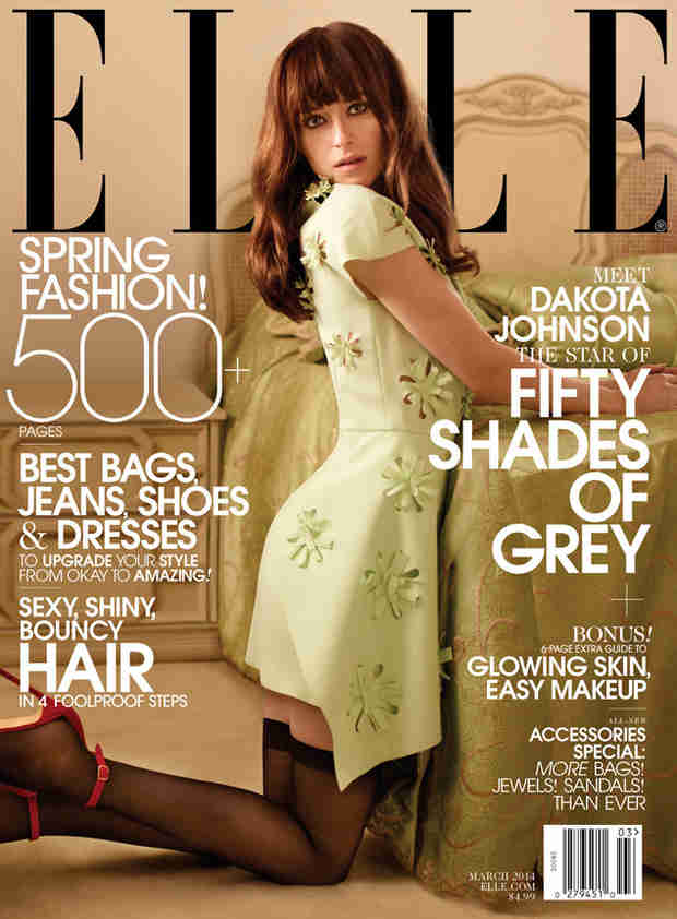 "Dakota Johnson Covers Elle and Talks Filming Fifty Shades of Grey: ""I Have No Shame"""