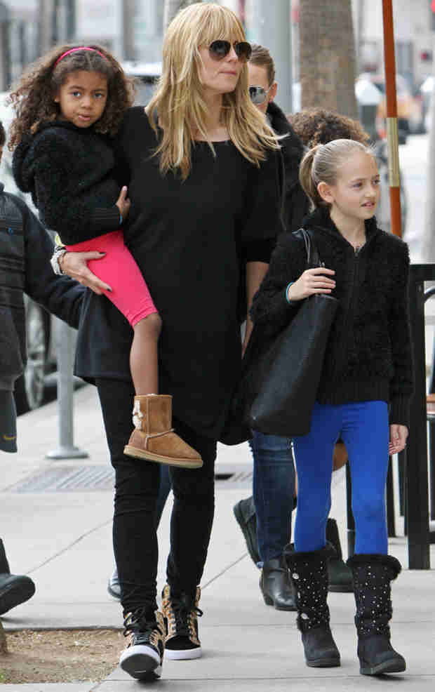 Heidi Klum and Seal's Daughter, Lou: What's She Look Like Now?