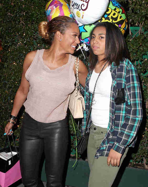 """Scary Spice"" Mel B's Daughter, Phoenix, 15: What's She Look Like Now?"