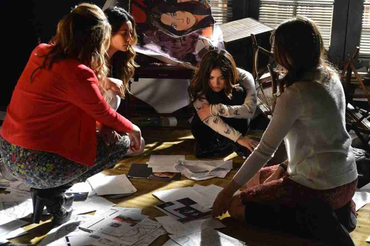 Pretty Little Liars Season 4, Episode 21 Burning Questions: Aria's Black Veil, Paige's Betrayal, and More!
