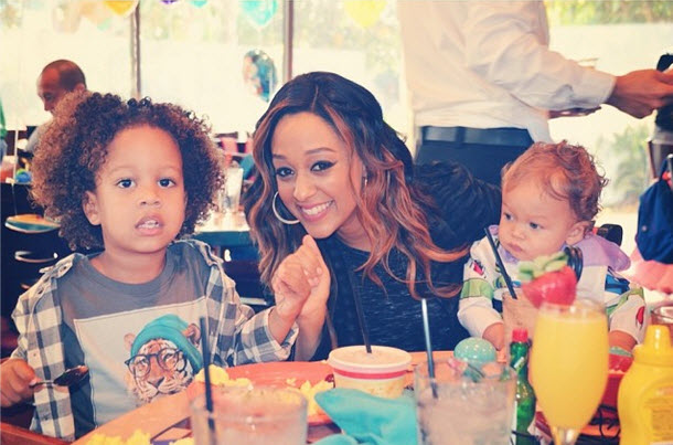 "Tia Mowry: The First Time My Son Said ""I Love You,"" I Started Bawling"