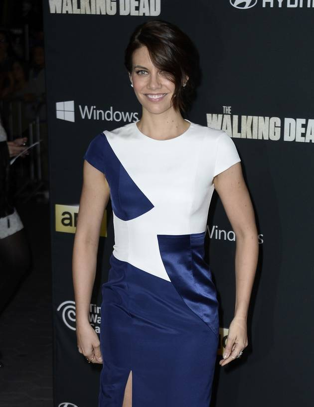 See The Walking Dead's Lauren Cohan on Archer! (PHOTO)