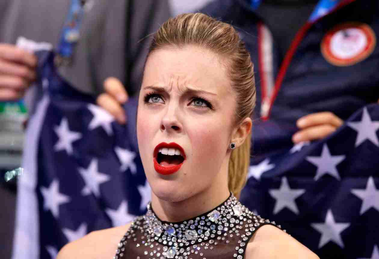 Ashley Wagner's Emotional Response to Figure Skating Score — Bad Sportsmanship?