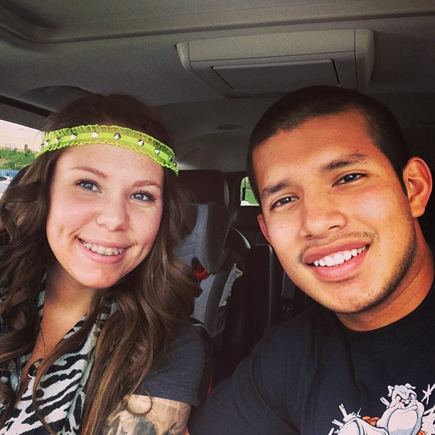 Kailyn Lowry's Husband Javi Marroquin Wears Lincoln in a Baby Sling (PHOTO)