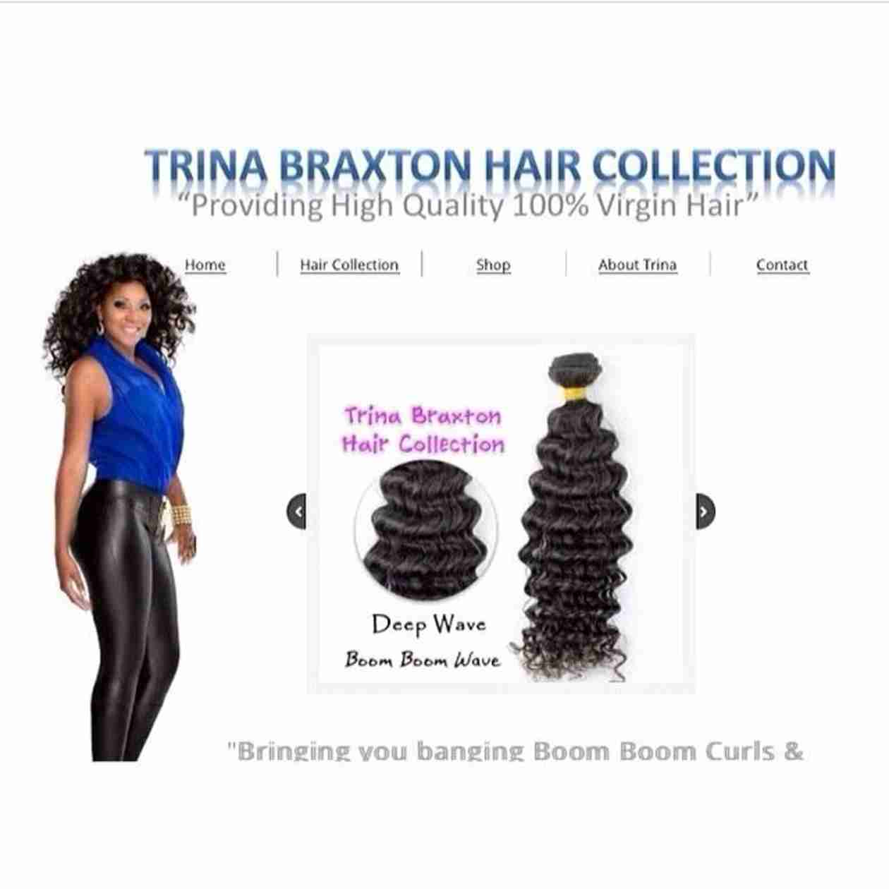 Trina Braxton Launching a Her Own Hair Collection (PHOTO)