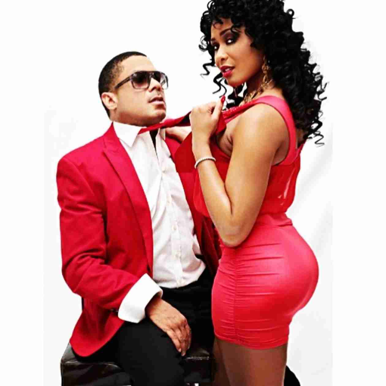 See Benzino and Fiancé Thi Thi's Romantic Photoshoot For Valentine's Day! (PHOTOS)