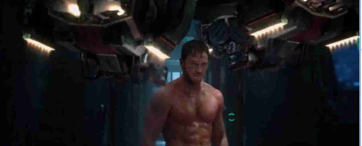 Holy Crap! See Chris Pratt's Abs in Guardians of the Galaxy Trailer! (VIDEO)