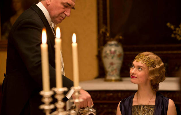 When is the Downton Abbey Season 4 Finale?
