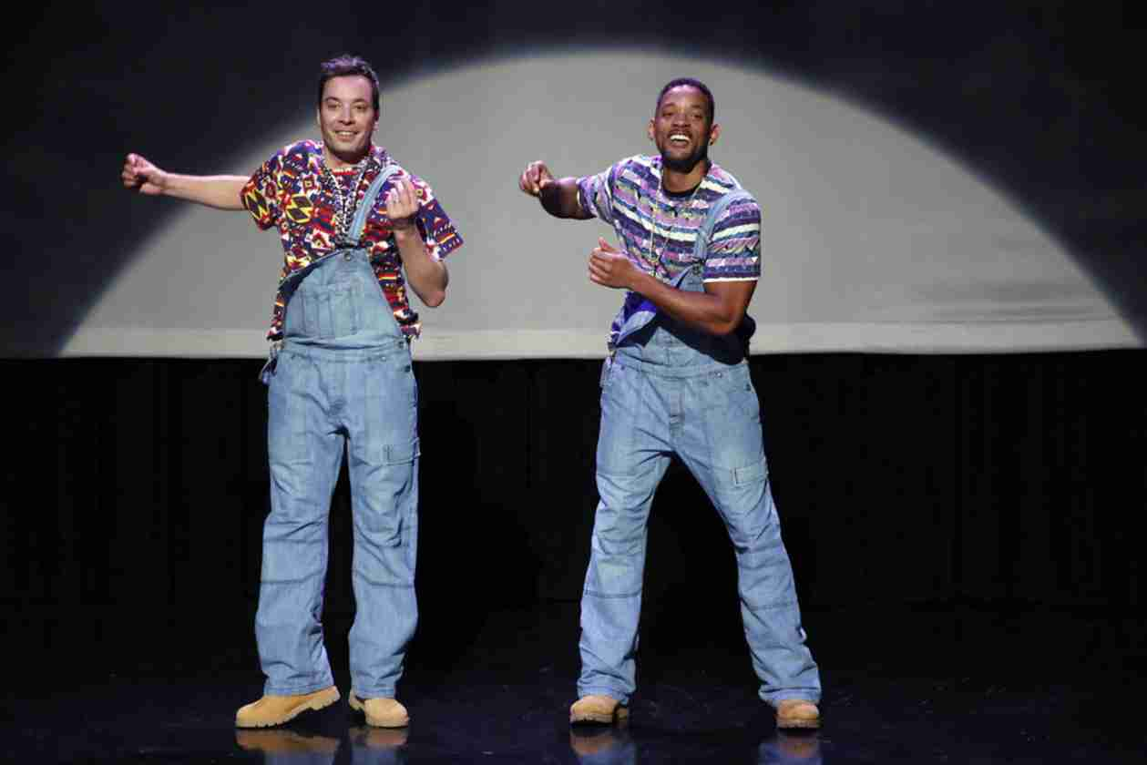 Watch Will Smith and Jimmy Fallon's Evolution of Hip Hop Dancing For Tonight Show Debut (VIDEO)