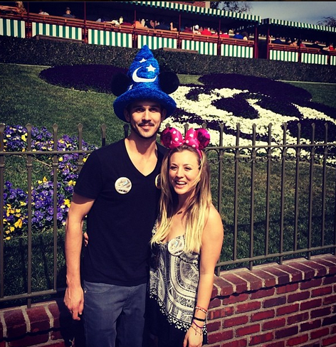 "Kaley Cuoco and ""Disney Virgin"" Ryan Sweeting Enjoy ""Mini Honeymoon,"" Adorable M&Ms (PHOTOS)"