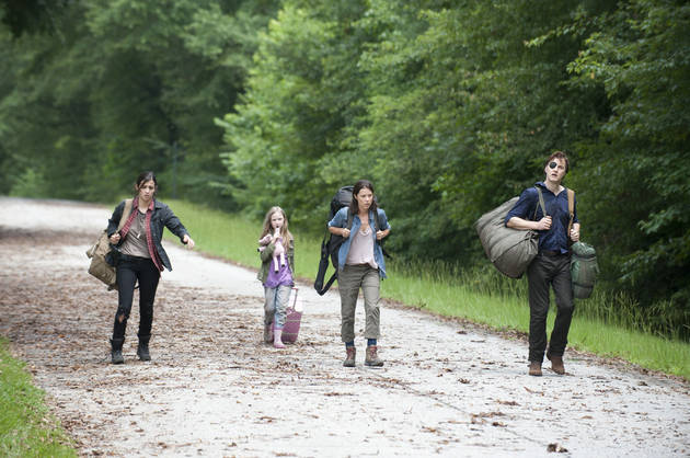 "The Walking Dead's Alanna Masterson Said The Governor ""Tried His Best"" With the Chambler Family"