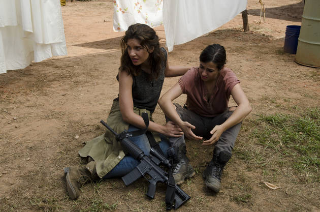 The Walking Dead Season 4: Alanna Masterson Opens Up About Playing the Show's First Lesbian Character