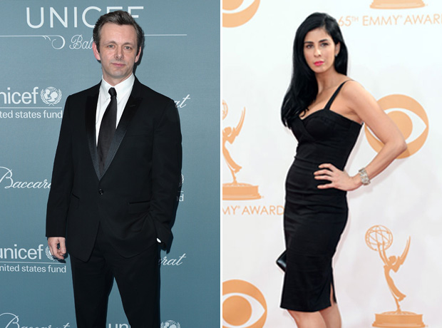 Sarah Silverman Is Dating Michael Sheen — New Couple Alert?