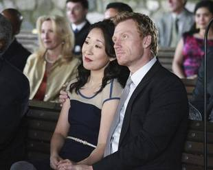 "Grey's Anatomy: Cristina and Owen Are ""Definitely Back Together,"" But Not a Couple"