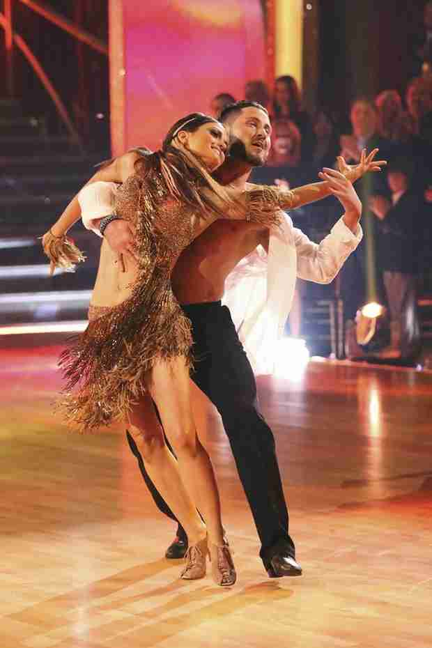 Dancing With the Stars 2014: Val Explains Danica's Mini-Breakdown on Week 2