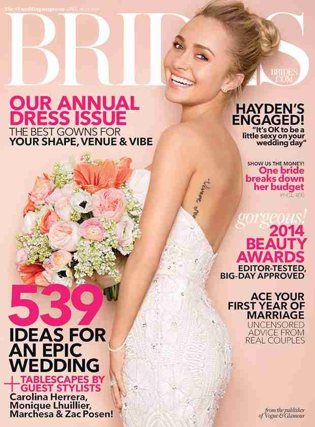 Nashville Star Hayden Panettiere Stuns on the Cover of Brides (PHOTO)