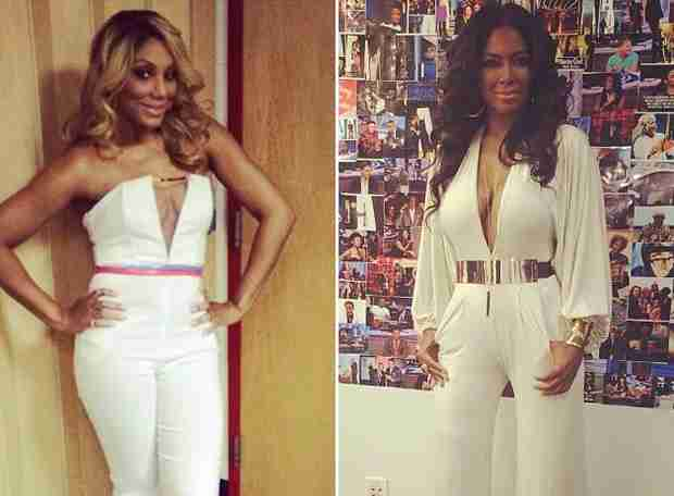 "Tamar Braxton Calls Kenya Moore's Behavior ""Rachet"" and Slap Worthy!"